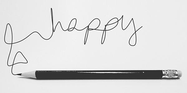 happy - Fuehl dich gluecklich - Kommunikationsgut